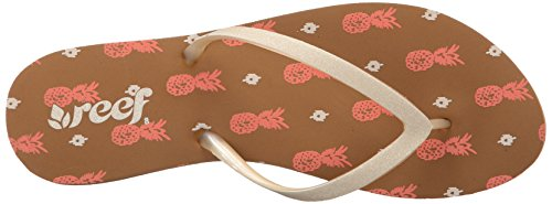Varios Coral Flop Prints Reef Pineapple para Sandalias Flip Stargazer Mujer Colores A0wzqFfI