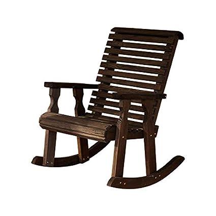 Amazon.com: Amish silla mecedora resistente de 600 libras ...