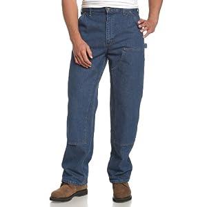 Carhartt Men's Logger Washed-Denim Dungaree B73
