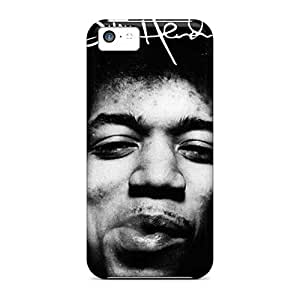 Shockproof Hard Cell-phone Case For Iphone 5c (gsi18390rbdU) Allow Personal Design Nice Jimi Hendrix Series