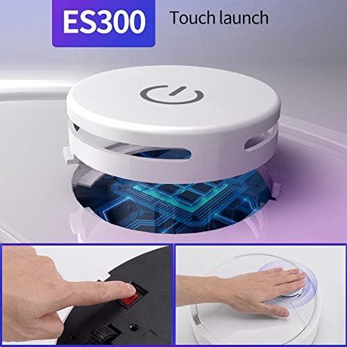 Suading ES300 recargable inteligente robot vac/ío limpiador 3 en 1 USB autom/ático inteligente barrido seco mojado fregona fuerte succi/ón barredora