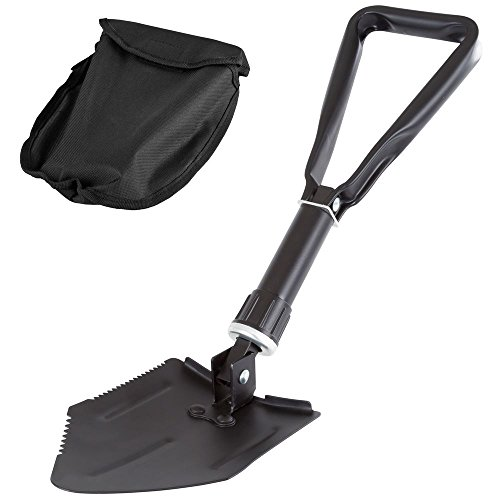 Discount Ramps Portable Folding Emergency Entrenching Survival Shovel by Discount Ramps