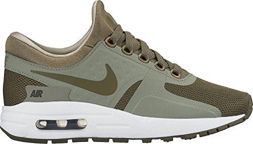 Nike Air Max Noll Viktiga Gs Ungdoms Löparskor Olivgrön