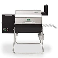 The Davy Crockett is the ultimate portable grill. It comes with a digital WiFi controller (control and monitor through our iOS or Android mobile application), a meat probe, a peaked lid for stand-up chicken/ large fowl/ rib racks, a convenien...