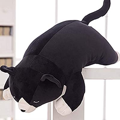 Sisyria Soft Stuffed PP Cotton Animals Toy 50cm, Cute Plush Hugging Pillow Napping Pillow Kid Babies Nursery Room Home Decoration,Cat: Home & Kitchen