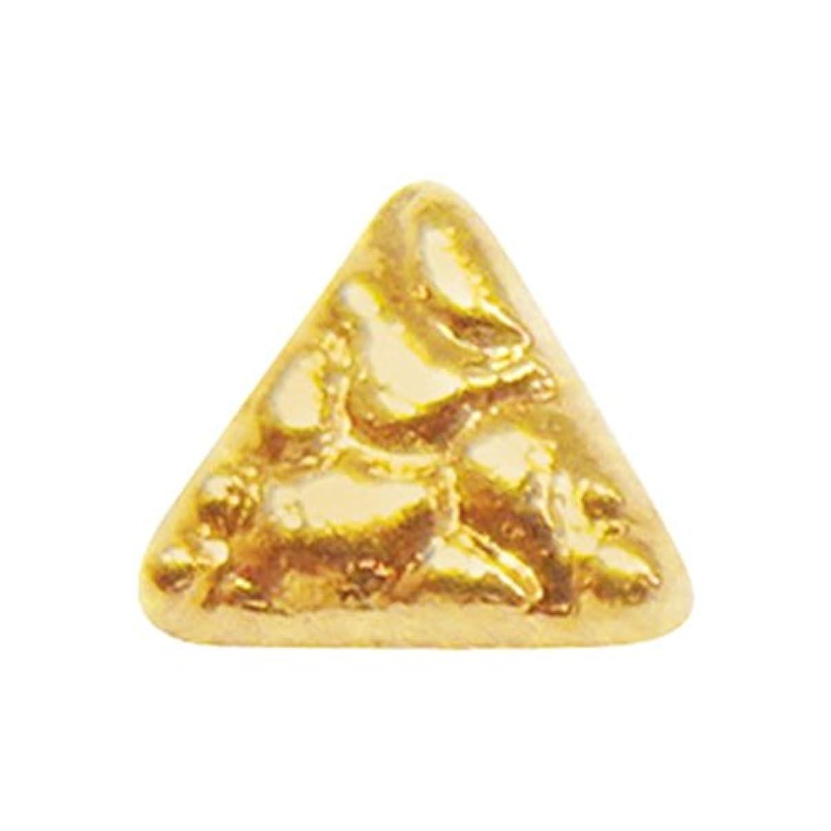 テザーじゃないバーベキュージェルネイル  サンシャインベビー アンティーク トライアングル(ゴールド) 10P