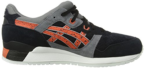 III Asics Gel 9024 chili black Noir Lyte Adulte Sneakers Basses Mixte EUTUfq1r