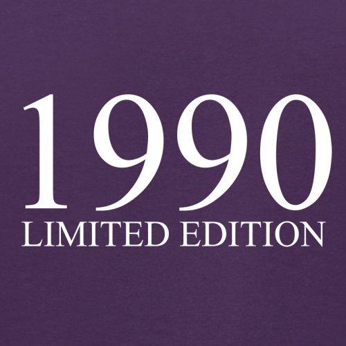 1990 Limierte Auflage / Limited Edition - 27. Geburtstag - Herren T-Shirt - Lila - S