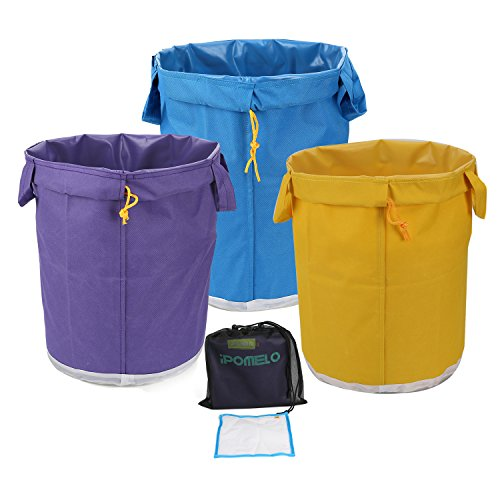 IPOMELO 5 Gallon 3-Bag Herbal Ice Bubble Hash Bag with Handle Essence Extractor Kit -Comes with Pressing Screen and Storage Bag by IPOMELO