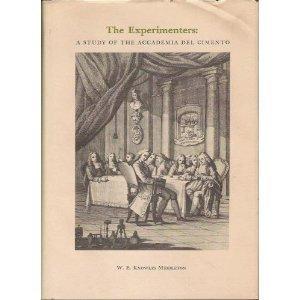 Amazon | The Experimenters: Study of the Accademia del Cimento ...