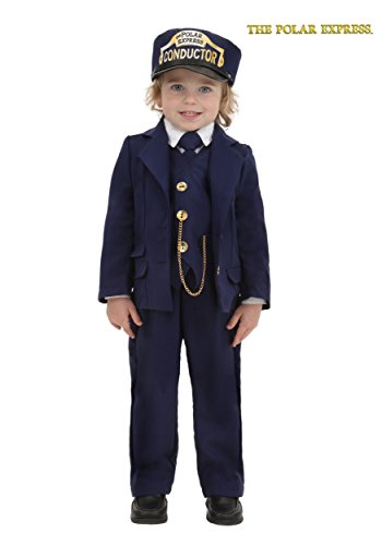 Toddler Polar Express Conductor Toddler Blue