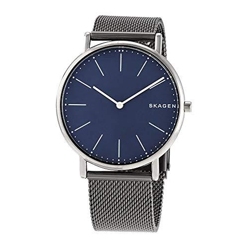 Skagen Men's Signatur Analog-Quartz Watch with Titanium Strap, Grey, 20 (Model: SKW6420) from Skagen