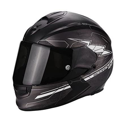 SCORPION - Cascos Moto - Scorpion Exo 510 Air Cross Gris fonce mate negro blanco: Amazon.es: Coche y moto
