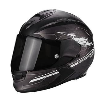Scorpion Casco Moto exo-510 Air Cross, Matt Dark Grey/Black/White