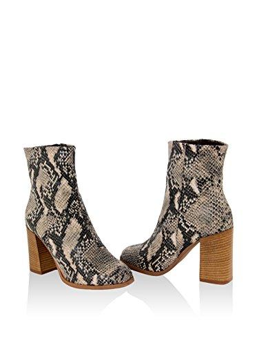 Gusto - 1655_PIGALLE_PITONE_ROCCIA - Schuhe Stiefel Grau