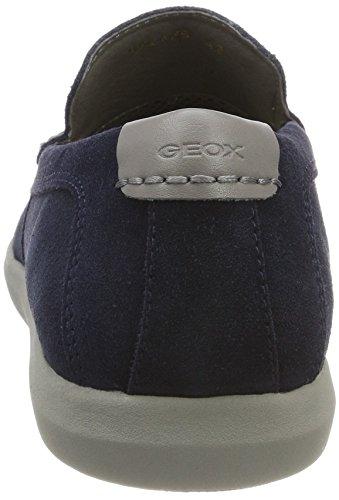 Geox U Yooking B, Mocasines Para Hombre Azul (Navy)