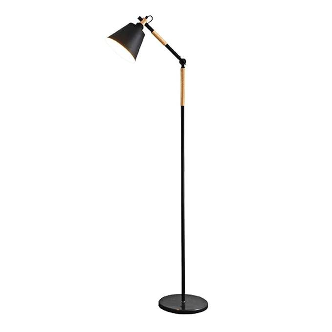 FREENN LED Lampara Pie Salon 6W Diseño Estilo Nórdico Blanco ...