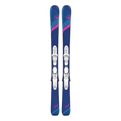 Rossignol Experience Pro/Kid-X 4 Ski Package Girl's