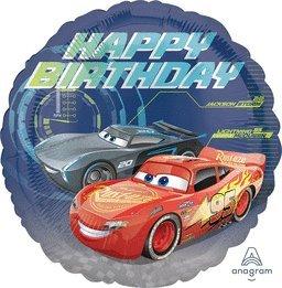Amazoncom 3 X Disney Cars 3 18 Happy Birthday Lightning McQueen 3