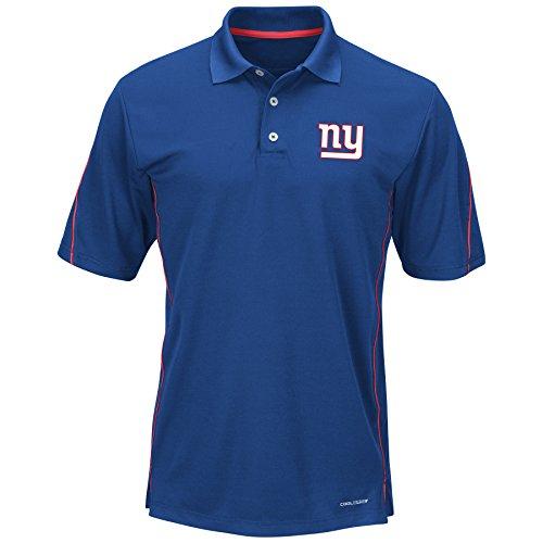 (NFL New York Giants Unisex Poly fleece Track Jacket, Royal, 2X/Tall)
