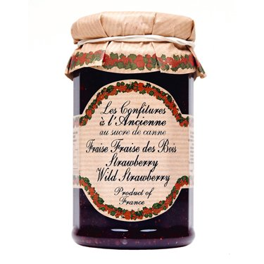 Les Confitures a l'Ancienne Wild Strawberry Jam (9 ounce)