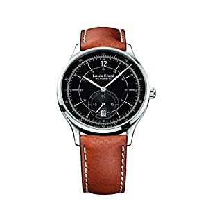 Louis Erard 1931 Collection Swiss Automatic Black Dial Men's Watch 33226AA12 brown veal leather
