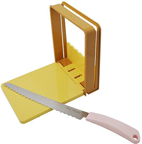 Based Sandwich Pan - Kai Bread Knife & Guide Set (AC-0059)