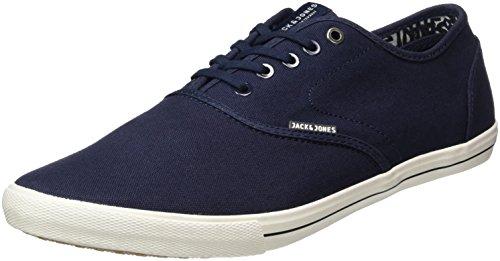 JACK & JONES Jfwspider Canvas Navy Blazer, Zapatillas para Hombre Azul (Navy Blazer)