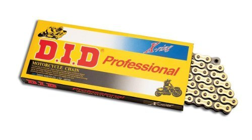 D.I.D 530 Pro-Street VX Series X-Ring Chain - 130 Links - Gold, Manufacturer: D.I.D, DID 530VX G&B 130ZB