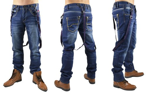 Jeans Straight Fit ID551 de Homme (jambe droite)