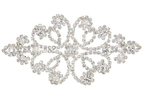 Diamante Rhinestone Applique Wedding Embellishments
