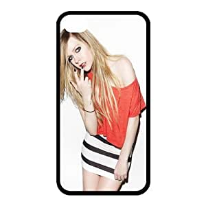 Custom Avril Back Case for iphone4,4S JN4S-167