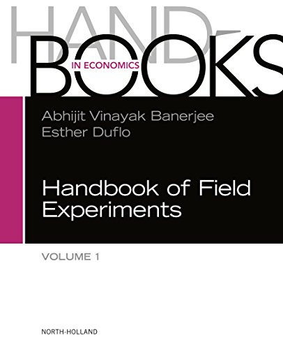 Handbook of Field Experiments: 1 (Handbook of Economic Field Experiments) (Contacts Handbook Business)