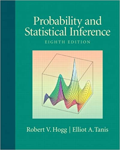 Amazon Com Probability And Statistical Inference 8th Edition 9780321584755 Hogg Robert V Tanis Elliot Books