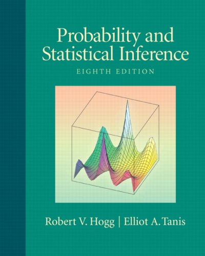 Probability and Statistical Inference (8th Edition)