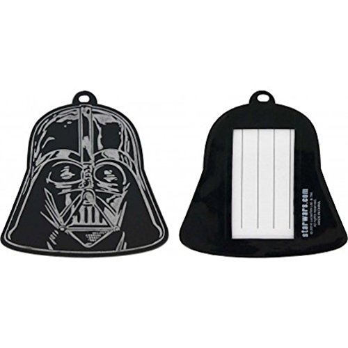 Star Wars Darth Vader Molded PVC Luggage ID Travel Tags Lice