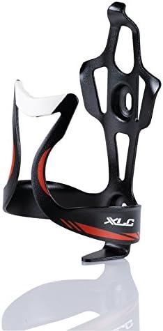 XLC Bicycle Bottle Holder Water Bottle Holder SideCage BC-S06 White Orange Aluminium