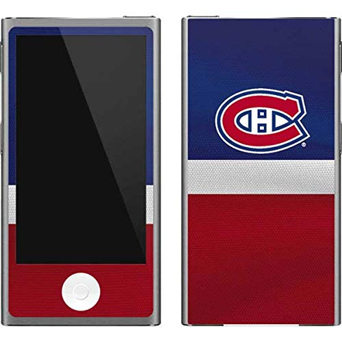 (Skinit NHL Montreal Canadiens iPod Nano (7th Gen&2012) Skin - Montreal Canadiens Jersey Design - Ultra Thin, Lightweight Vinyl Decal Protection )