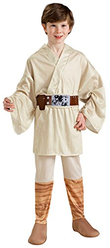 Rubie's Star Wars Classic Child's Luke Skywalker Costume, Small