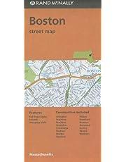 Rand McNally Folded Map: Boston Street Map