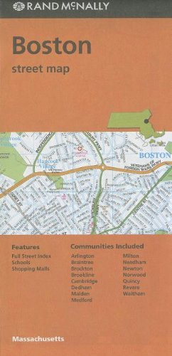 Rand McNally Folded Map: Boston Street - Ma Outlets Boston