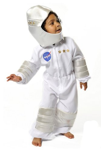 [Boys Kids Childrens Astronaut Nasa Space Man Suit Fancy Dress Halloween Costume 3-5 Years by Pretend to] (Spaceman Suit Costume)