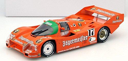 1986ポルシェ962Jagermeister Winner 1000km Spa閉じたDiecast Model in 1: 18スケールby Norev
