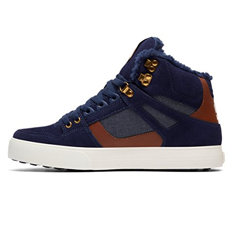 Wc Sneakers Homme Bleu High Spartan Shoes Wnt Navy Dc Hautes vOB7wqxZ