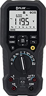 FLIR DM91 Industrial TRMS Multimeter with Datalogging & Wireless Connectivity