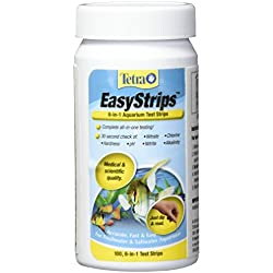 Tetra EasyStrips 6-in-1 Aquarium Test Strips, 100-Count