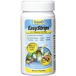Tetra EasyStrips 6-in-1 Aquarium Test Strips, 100-Count
