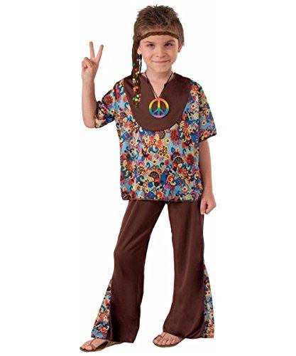 [Kids Hippie Boy Costume] (Hippie Costumes Kids)