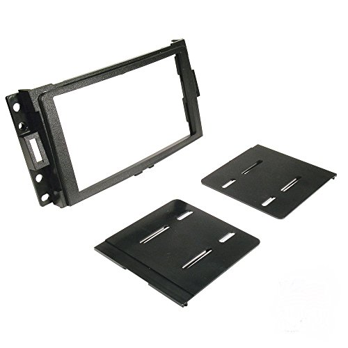 Scosche GM1595B Double DIN Installation Dash Kit for Select 2005-Up GM Vehicles (Corvette Dash Kits)