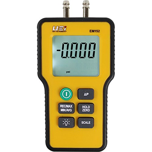 UEi Test Instruments EM152 Dual Differential Digital Manometer ()